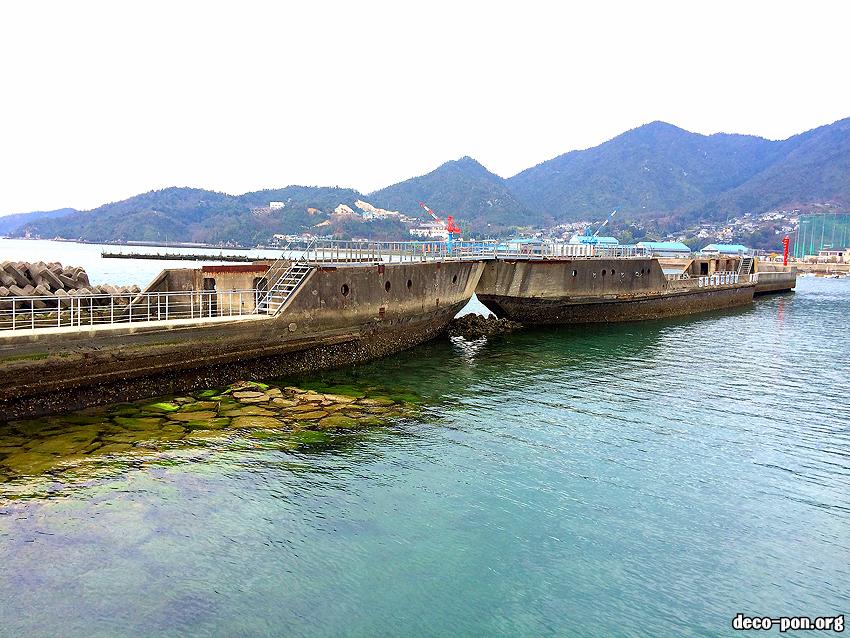 安浦コンクリート船・武智丸